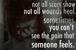 friendship, hurt, love, pain, quote, sad, scars, text, typography ...