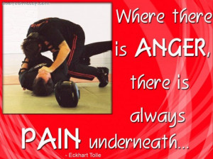 Where There Is Anger, There Is Always Pain Underneath