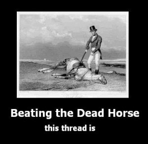 ... beating a dead horse is mike and the dead horse is his career in radio