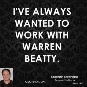 Warren Beatty Theres Point