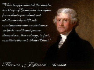 Jefferson's Advocacy For Protection Of Jew, Gentile, Mahometan, Hindu ...