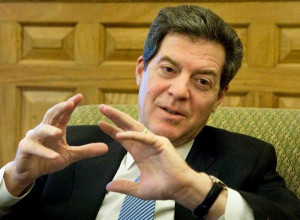 Gov. Sam Brownback talked Monday about Pope Francis' comments about ...