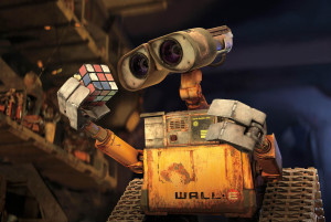 "WALL·E : ""Too much garbage in your face? There's plenty of space ..."
