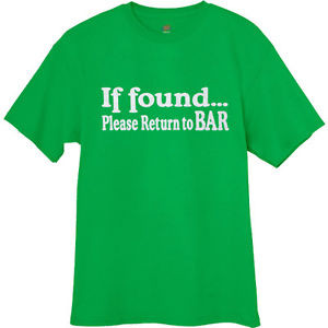 ... -return-to-Bar-funny-saying-tee-st-patricks-pattys-day-green-t-shirt