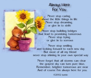 always here for you Image