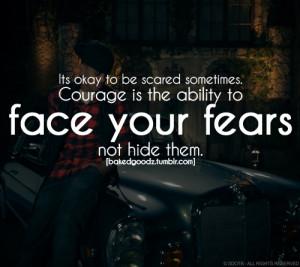 bakedgoodz:Face your fears