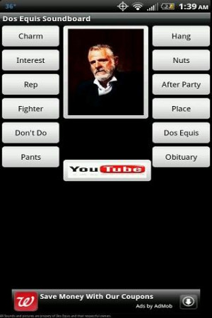 Dos Equis Soundboard - screenshot