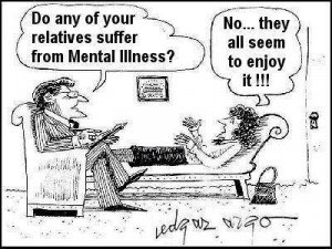 Funny mental illness cartoon