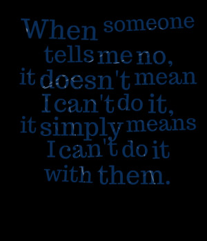 Mean Quotes Quotes picture: when someone