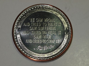 about SENATOR ROBERT F KENNEDY RFK 1925-1968 COPPER COIN QUOTES ...