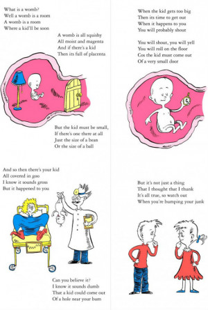 Pregnancy As Explained By Dr Seuss
