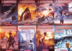 Survived Series 8 Book Set: The Sinking of the Titanic / The Shark ...