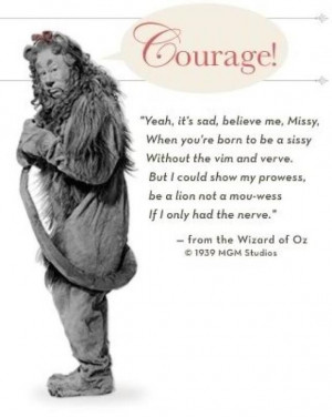Cowardly Lion Quote