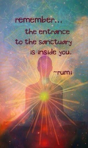 Rumi, yoga