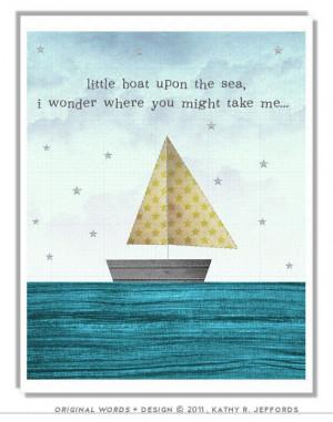 ... Sailboats Nautical, Toddler Nautical Room, Sailing Quotes, Nautical