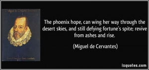 The Phoenix Hope Can Wing