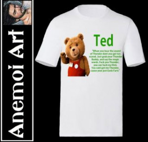 Thunder Buddies For Life Mens T Shirt Funny Ted Movie Quotes Sayings