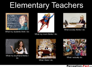 teacher what people think i do