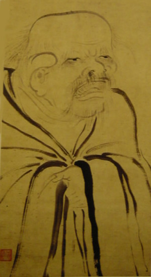 ... Muqi, 13ième siècle, Southern Song Dynasty, Portrait of laozi