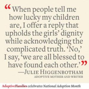 Adoptive Families