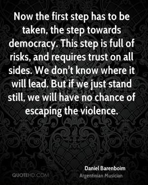 Daniel Barenboim Trust Quotes