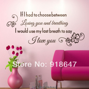 Love Shopping Quotes Wall stickers