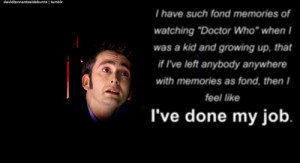 Doctor Who Quotes David...