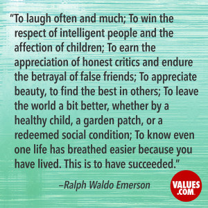 An inspiring quote about #achievement from www.values.com #dailyquote ...