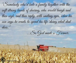 Paul Harvey, So God made a FarmerFarms Girls, Farmers Daughters ...