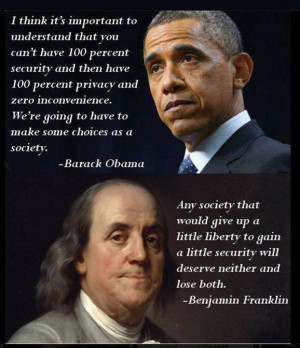 Give Up Liberty for a Little Security?