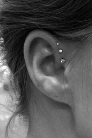 Getting these on at least onr ear.