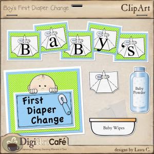 Diaper Change Clip Art
