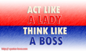 Think Like a Boss Quotes