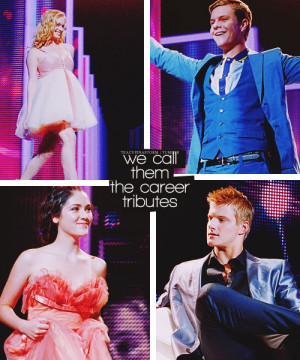 The career tributes #BelieveinClato CLOVE AND CATO!