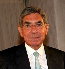 New Delhi March 27 Former Costa Rican president Oscar Arias Sanchez