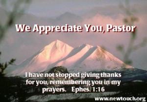Pastor Appreciation Clip Art | Pastor's Appreciation ecards: Christian