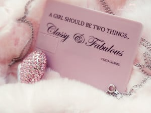 The Girly Girl's USB & Wallet Drive ~ Classy, Fabulous & PINK!