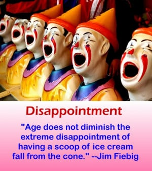 Funny Quote -Disappointment