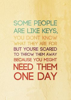 some people... More
