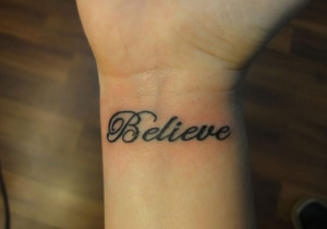 Tattoo For Self-belief