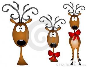 reindeer over a christmas reindeer cartoon christmas cartoon reindeer ...