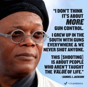 samuel jackson supports the second amendment and gun rights