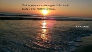 Sunrise @ Neptune Beach Fl 1/26/13