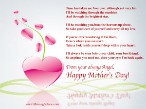 Miscarriage Mothers Day eCard
