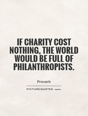 Charity Quotes and Sayings