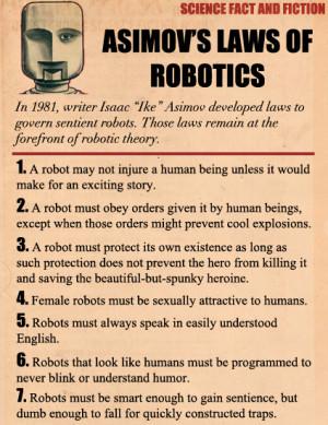 Understanding robots
