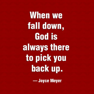... Quotes Faith, Christian Quotes, Fall, Joycemeyer, Gods Is, Joyce Meyer
