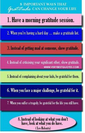 Gratitude quotes 8 tremendously important ways that gratitude can ...