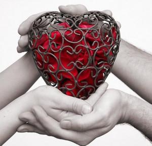 The human heart has hidden treasures, In secret kept,