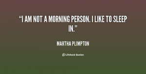 AM Not a Morning Person Quote